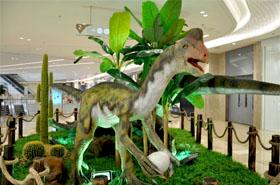 领略广告商业美陈正式开启景枫KINGMO恐龙展计划