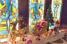 领略广告金陵会圣诞主题美陈包装